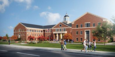 Design concept rendering of North Stem High School