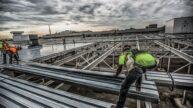 M5 Flint Steel Roof Enclosure