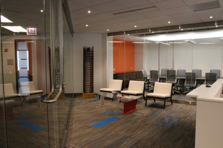 Barton Malow Chicago, Illinois office interior