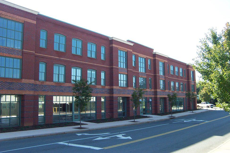Barton Malow Charlottesville, Virginia office exterior