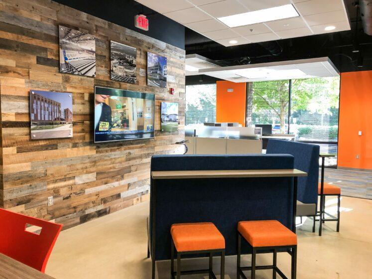 Barton Malow Nashville, Tennessee office interior