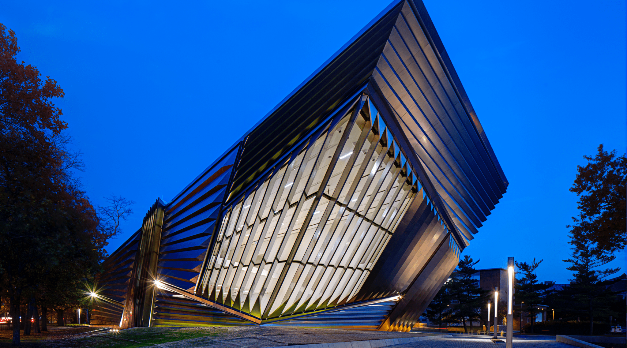 Eli and Edythe Broad Art Museum exterior view