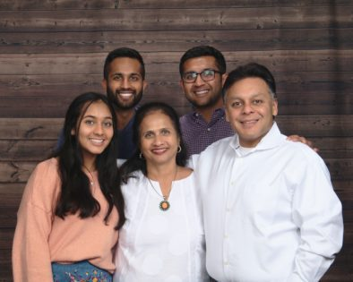 Shah family photo