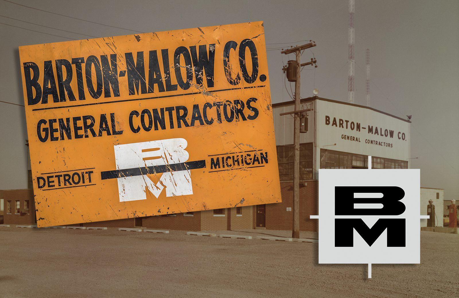 1965 Barton Malow Logo