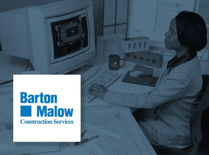 1990 Barton Malow Logo