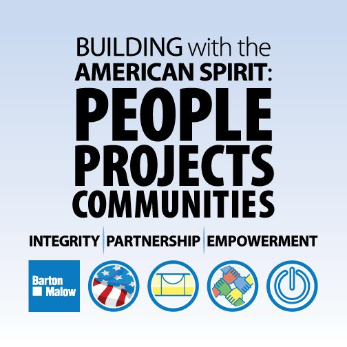 Building with the American Spirit: People Projects Communities graphic