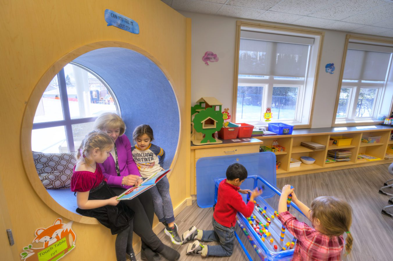 Barton Malow_Troy Early Childhood Center_Classroom