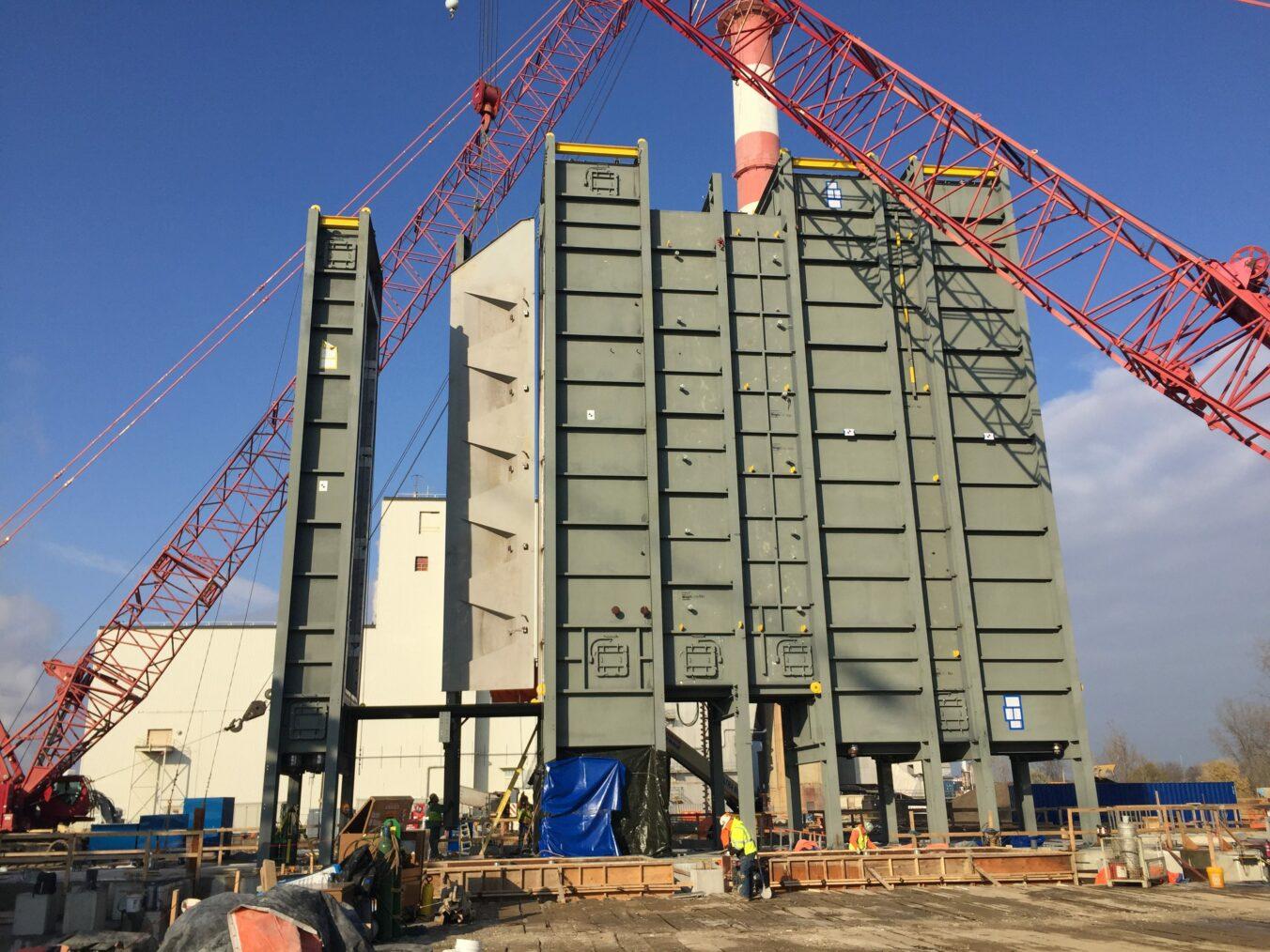 Delta Energy HRSG Installation