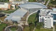 Embry-Riddle Aeronautical University Mori Hosseni Student Union Aerial