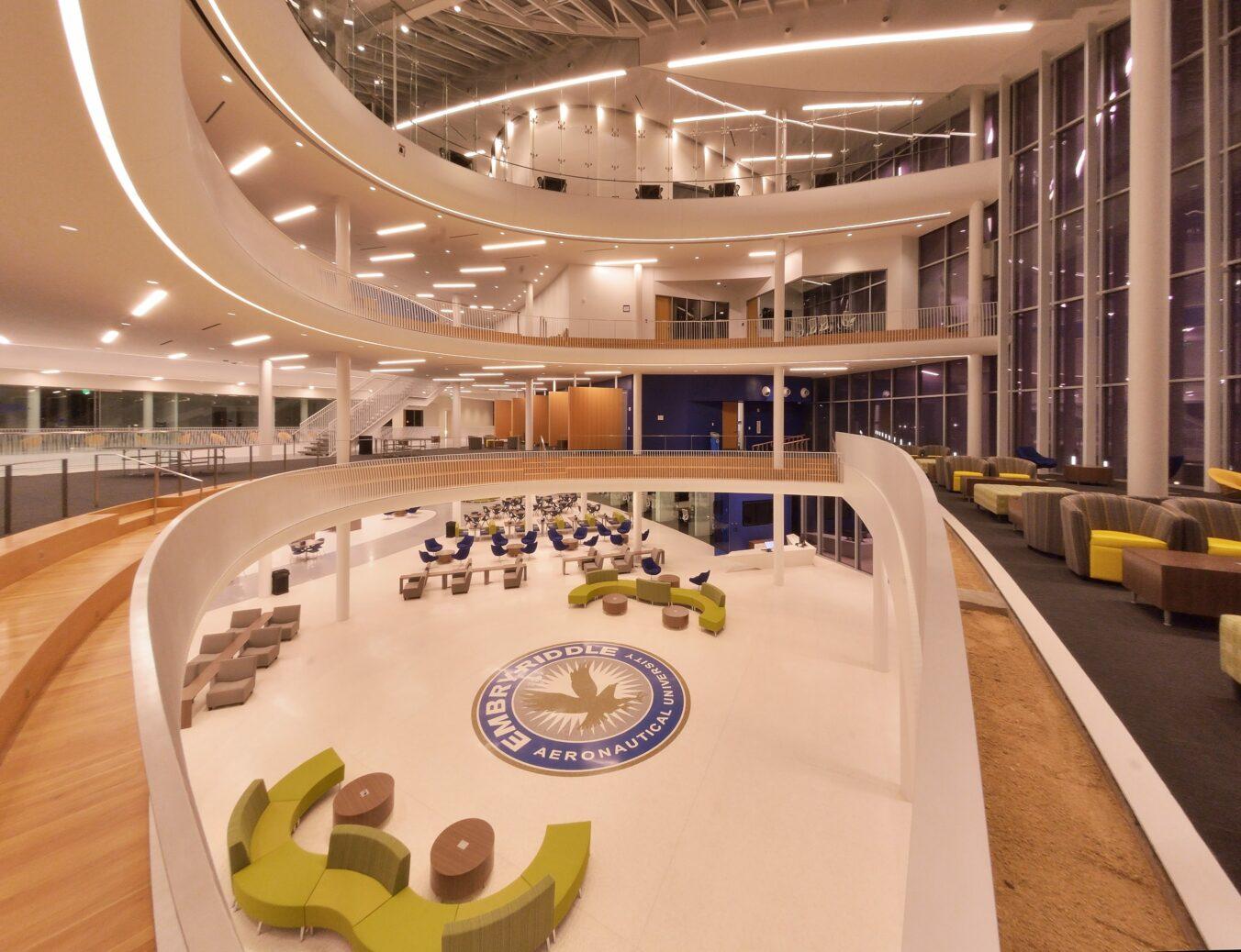 Embry-Riddle Aeronautical University Mori Hosseni Student Union Atrium