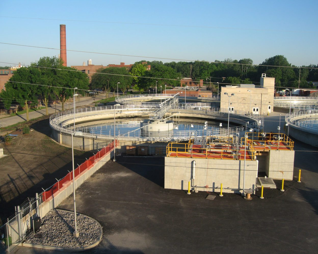Fort Wayne WWTP Exterior Overview