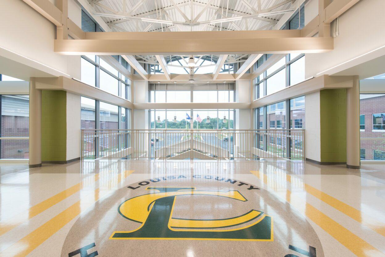 Louisa County High School_Atrium