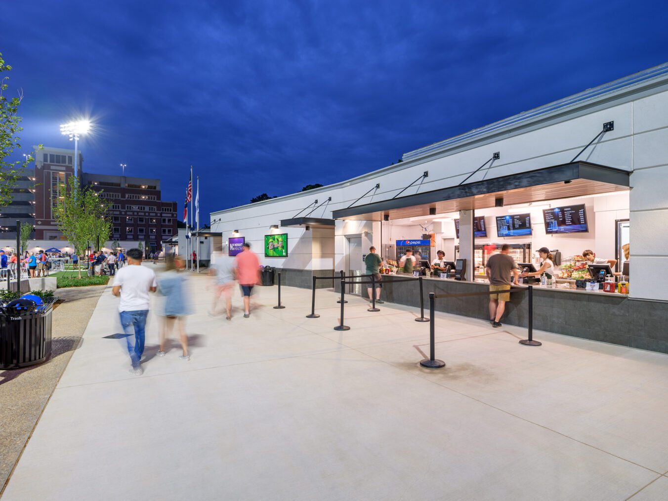 American Legion Memorial Stadium Concessions