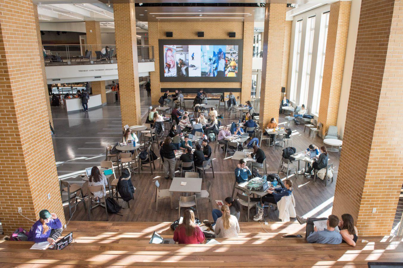 University of Notre Dame Duncan Student Center Interior