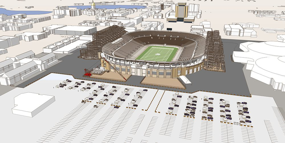 University of Notre Dame Campus Crossroad Game Day Logistics Model