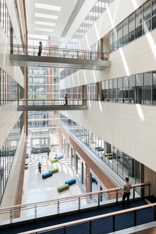 University of Maryland Baltimore Health Sciences Facility III Interior