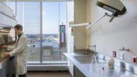 University of Maryland, Baltimore Health Sciences Facility III Lab