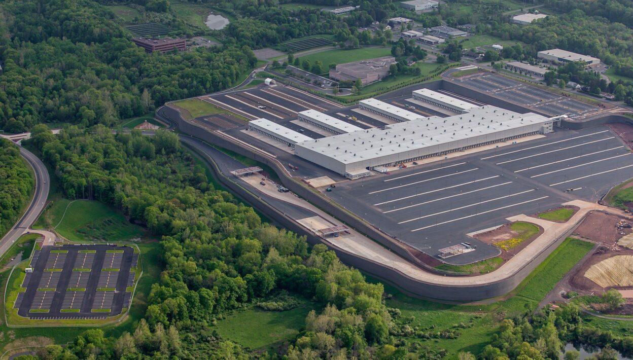 FedEx Middletown Aerial