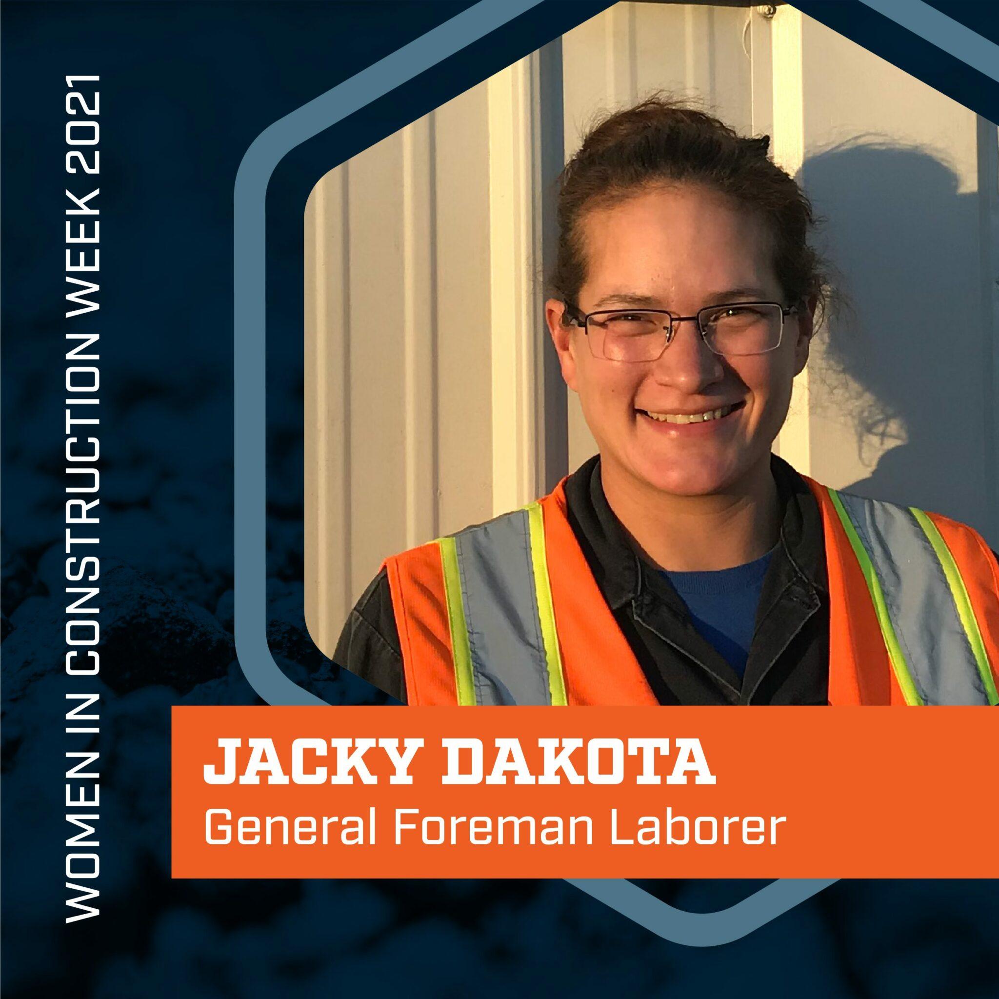 Jacky Dakota WIC Week