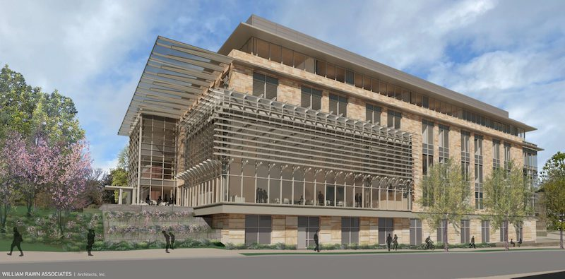 Vanderbilt Owen Graduate School of Management Expansion Exterior Rendering