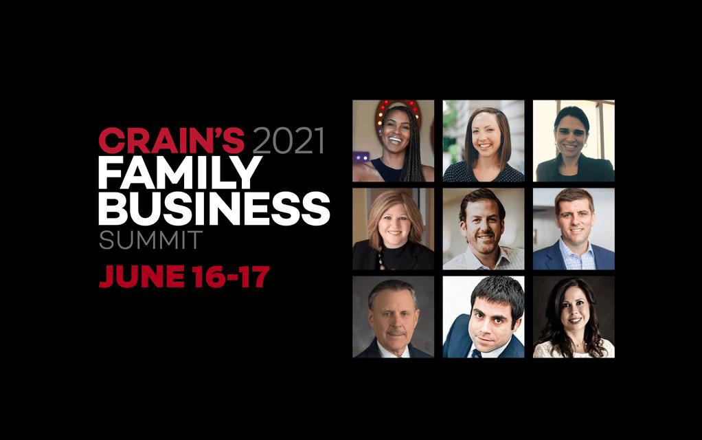 Crain's Family Business Summit 2021