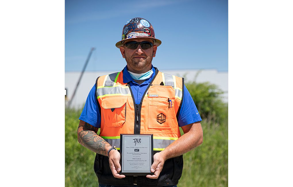 Rob Gadson TAUC Craftsperson of the Year